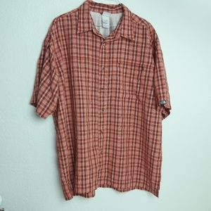 The North Face Camping Shirt Button Down Mens XL